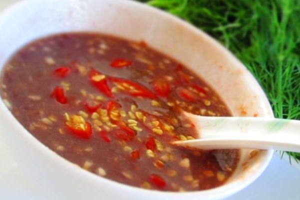 Cách làm mắm tôm chanh ớt cho món đậu phụ