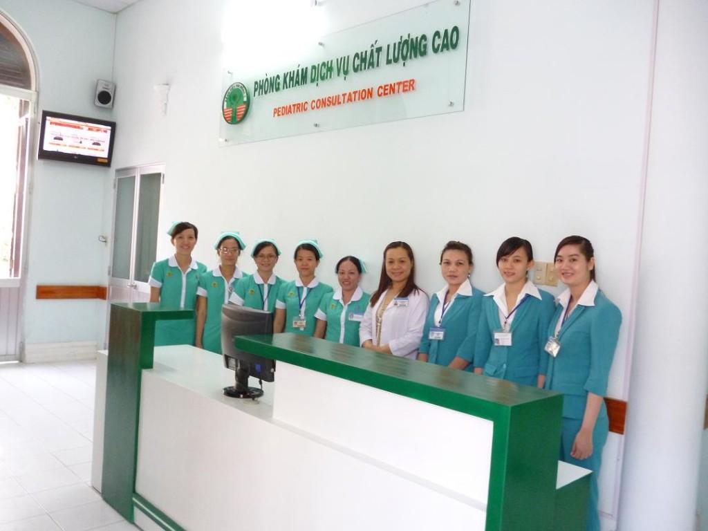 Phong kham chat luong cao BV Nhi dong 2