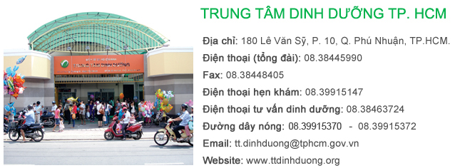 Trung tam dinh duong TPHCM