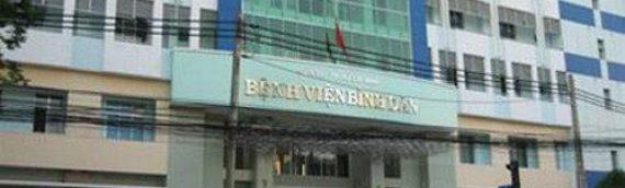 Lịch làm việc và quy trình khám bệnh Bệnh viện Bình Dân TP.HCM