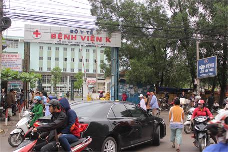 Giờ khám bệnh viện K Hà Nội